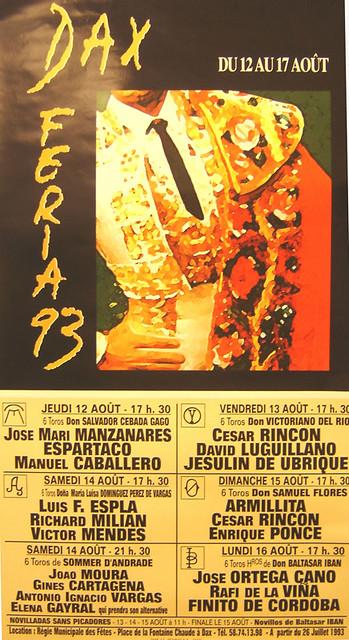 Archives des affiches de la Feria