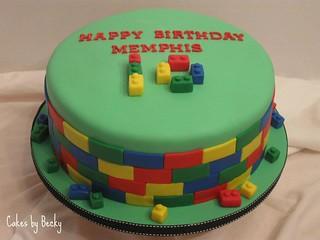 Admirable Lego Birthday Cake Birthday Cake 2 For Memphis Chocolate Flickr Funny Birthday Cards Online Overcheapnameinfo