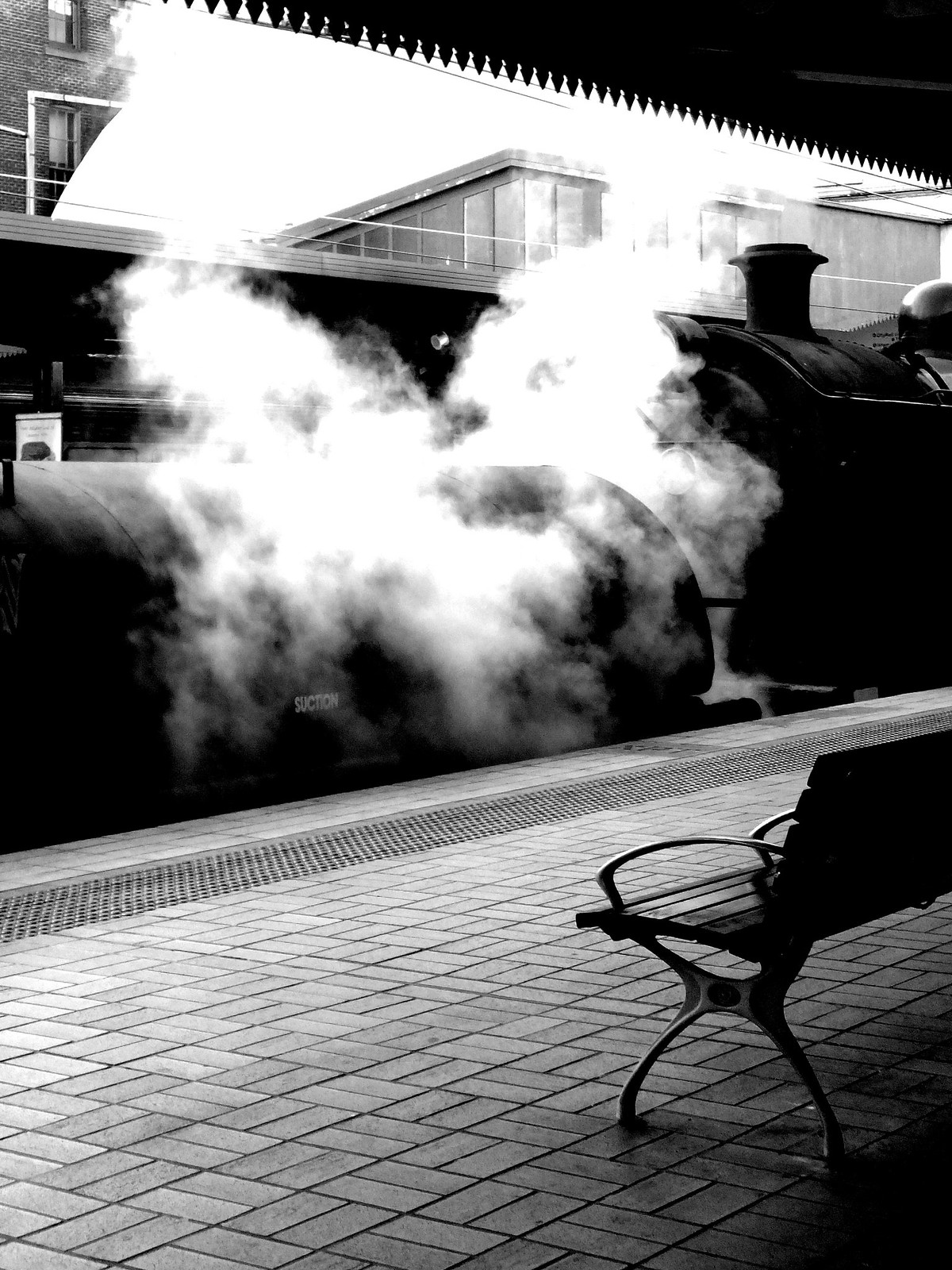 Steam era on Central's Platform 4 by Nathan Murphy