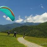 DAO-03663 台東 鹿野高台 高台飛行傘區 飛行傘的故鄉 滑翔翼