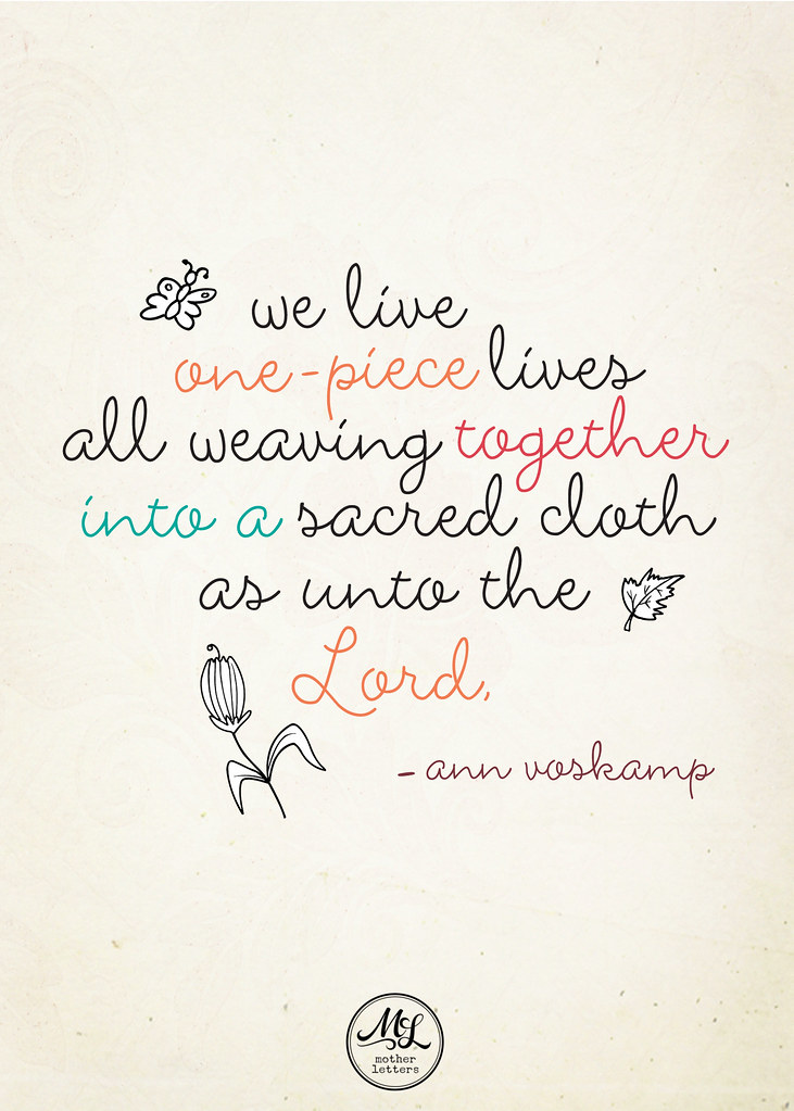 Ann Voskamp Quote | Quote from Ann Voskamp from her letter i ...