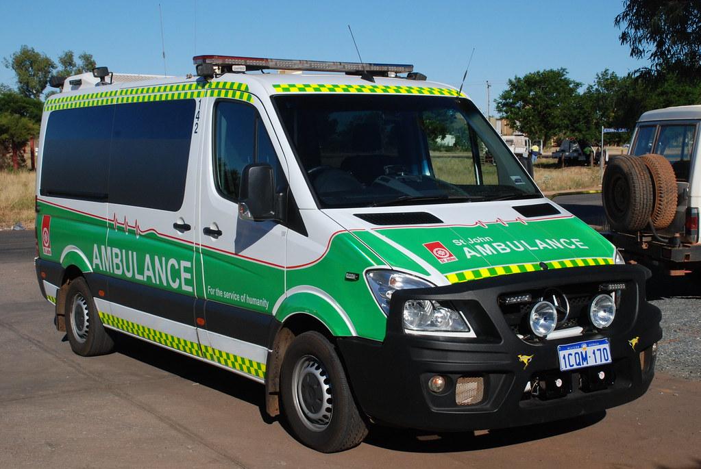 c9a7afc0b3 ... Western Australia MB Sprinter Ambulance