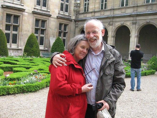 Us in the Musee Carnavalet