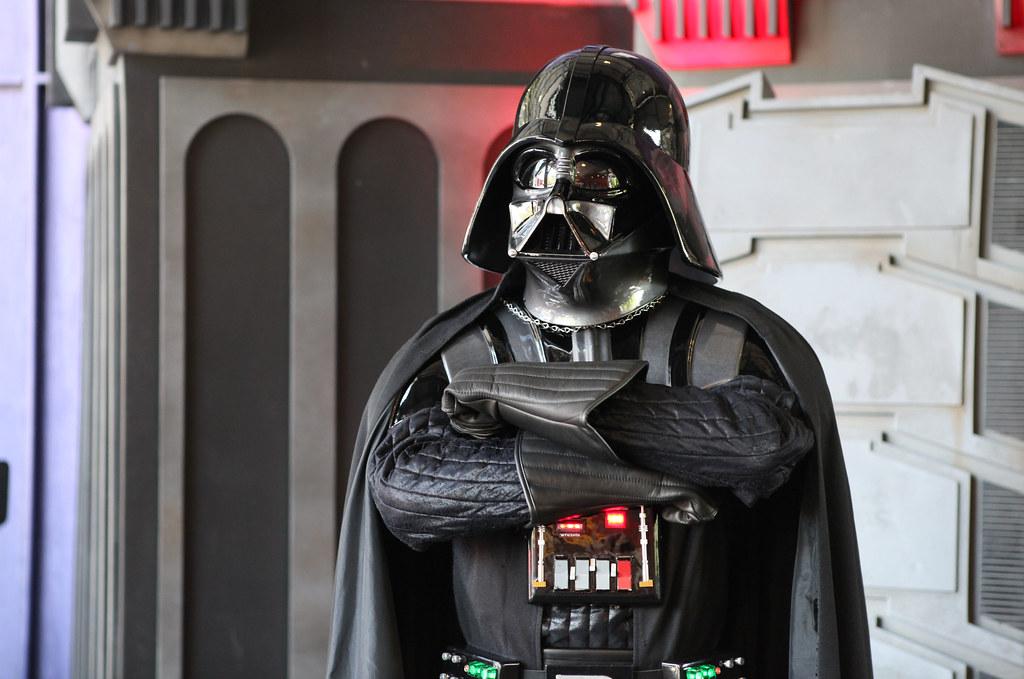 Darth Vader   Darth Vader posing at Star Wars Weekends