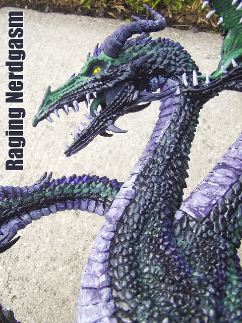 McFarlane Dragons custom painted by La Bruja