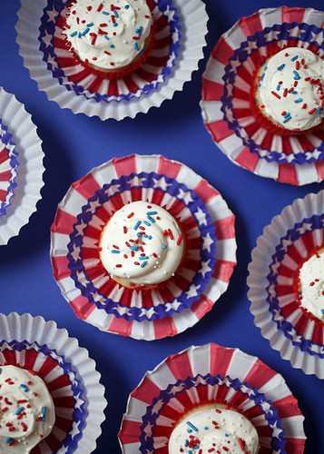Fourth of July Cupcakes | by Bakerella