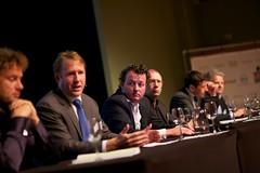 Sander Duivestein (Sogeti) bij het Nationaal Privacy Debat