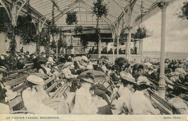 Princes Parade - Floral Pavilion, Bridlington, c.1905 (archive ref PO-1-20-88)