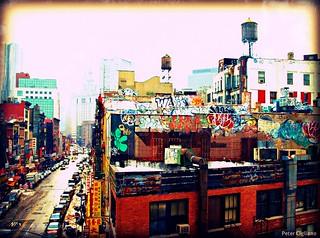 Downtown Graffiti in NYC