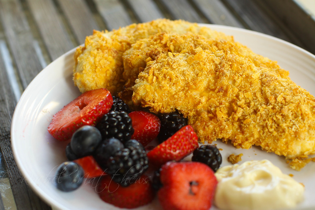Hellmann S Cornflakes Chicken Tenders Recipe Asouthernf Flickr