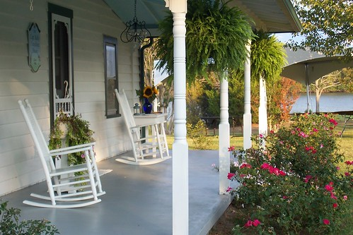 Front Porch, Cheseldine House, Bushwood