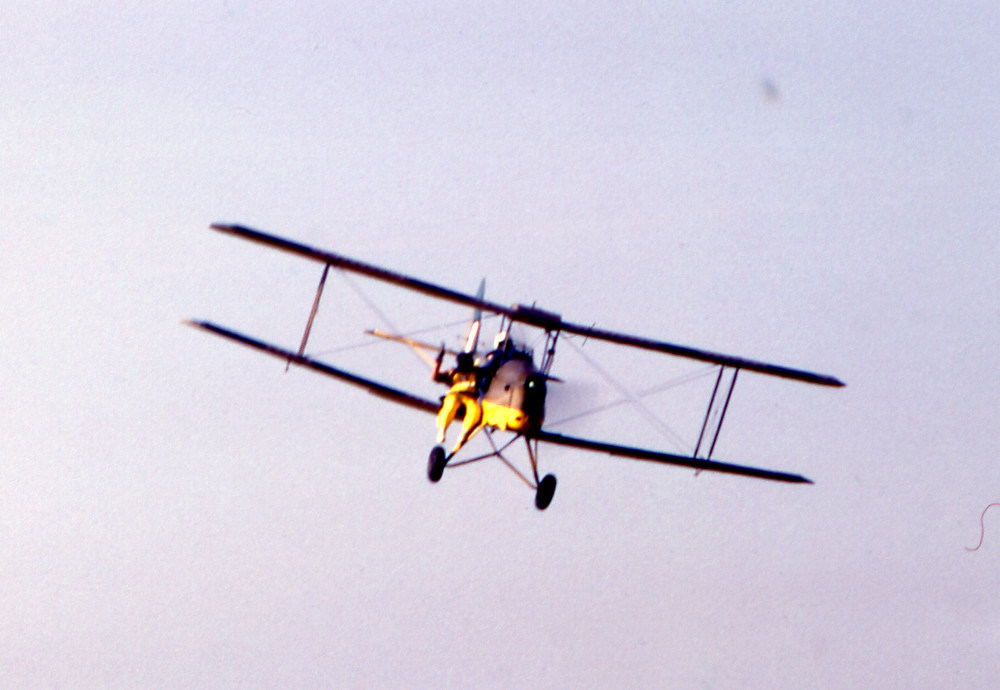 BARNSTORMERS AIRSHOW, Tiger Moth G-ANMO SIBSON  12TH SEPT