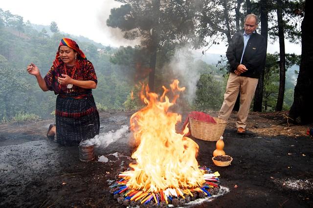 maya sacrifice guatemala