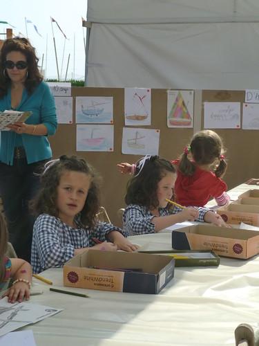 La XI Fira del Mar. Concurs de dibuix infantil