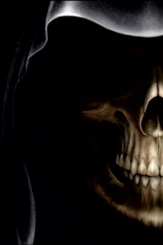 Grim Reaper Skeleton Skull Iphone Wallpapers Fabian