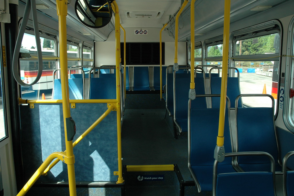 Interior of the 3000-series bus | We've updated the inside o… | Flickr