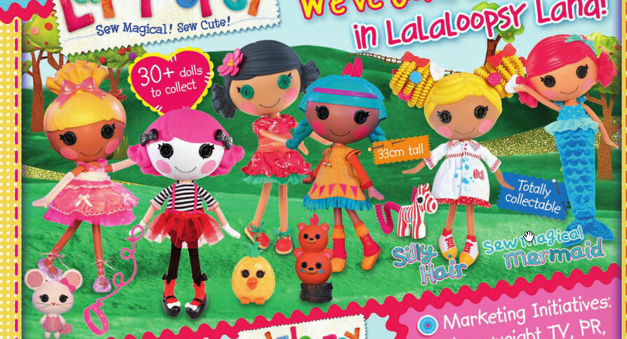 New Lalaloopsy dolls | Same place as the Zillaz haha Just Ci ... on