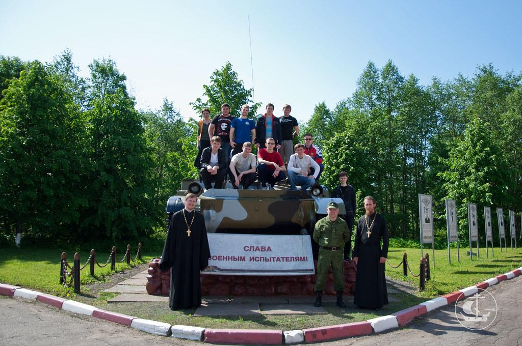 14 июня 2012, поездка на военный испытательный полигон в пос. Елизаветинка