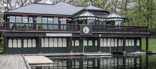 THE BOATHOUSE IN ROUNDHAY PARK