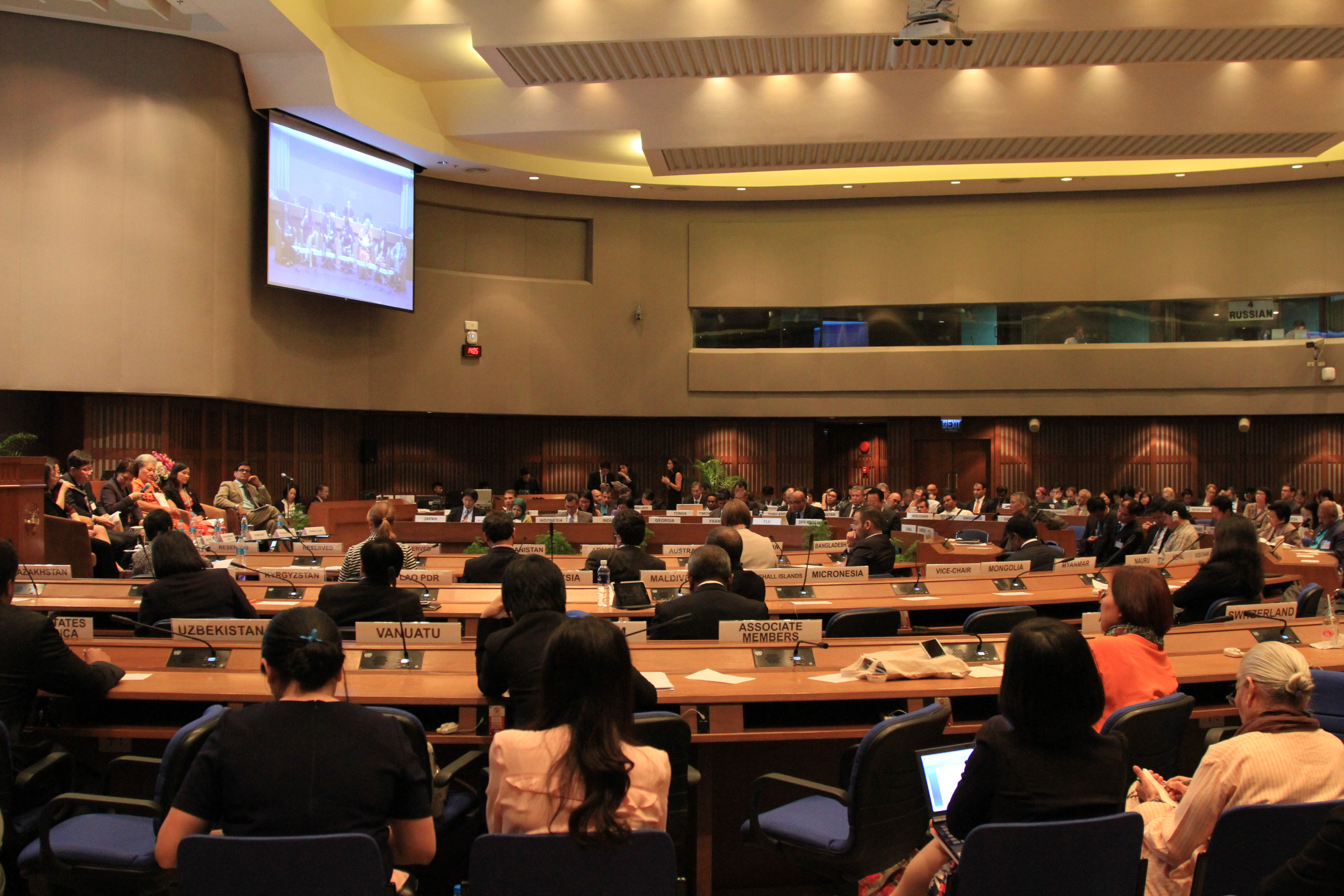 Side Event on Voluntary National Reviews