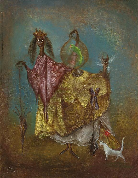 [ C ] Leonora Carrington - La artista viaje de Incognito (The artist traveling incognito) (1949)