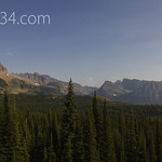 From Granite Park looking to Logan Pass