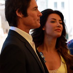 Ronn Moss (Ridge) and Jacqueline Macinnes Wood (Steffy)