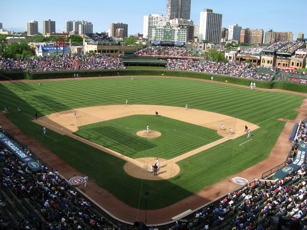 Image result for chicago cubs game