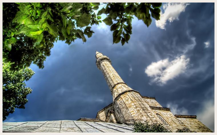 Koski Mehmed Pasha's Mosque, Mostar, HDR