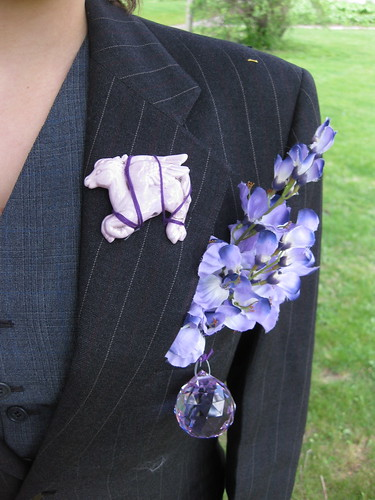 Purple Suit | by aliyabarbeque