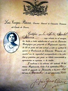 Profesora Isabel Limon Ibarra