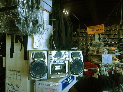 Soul Train Suit Warehouse. Photo by Melanie Merz.