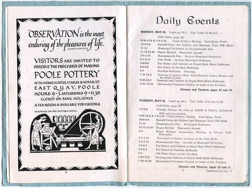 Bournemouth Weekly Programme, 21st-27th May, 1939   by Alwyn Ladell