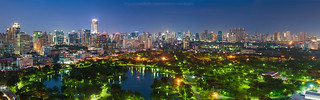 Bangkok Night in Panorama | by Weerakarn