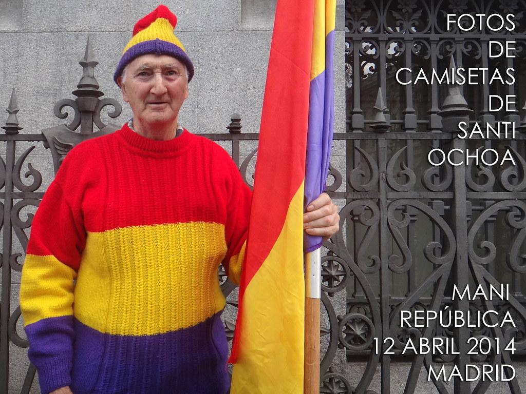 MANIFESTACIÓN  REPÚBLICA 12 abr. 2014 - republica