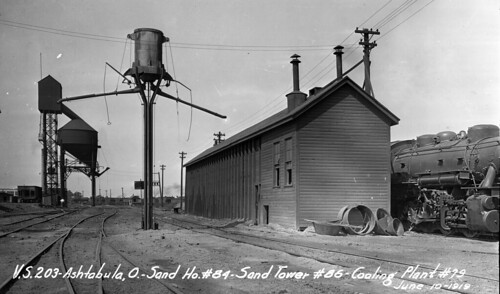 Sand House, Sand Tower, & Coaling Plant