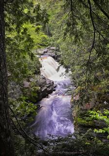 Canyon River Waterfall