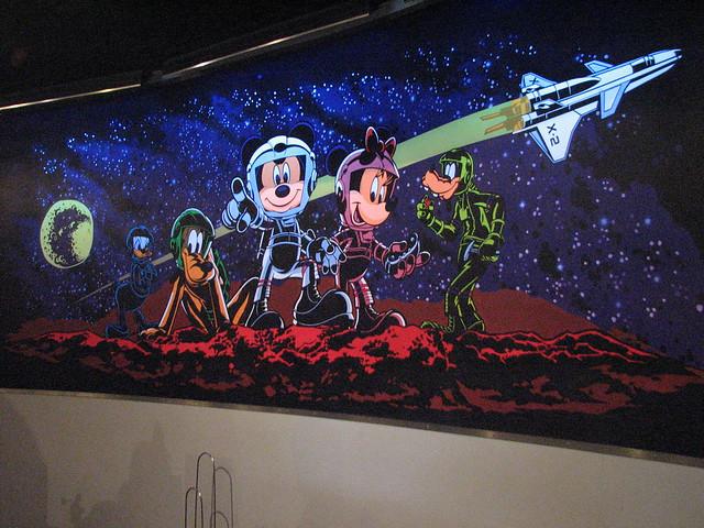 Disney in space