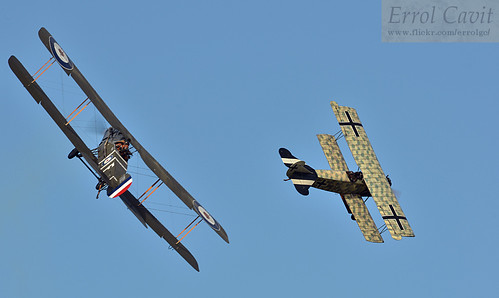 Bristol Fighter vs Fokker D.VII