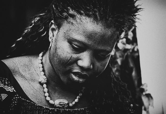 African Woman with Ritual Tatoos