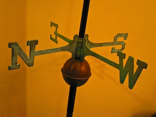 The Kendall Hotel at the Engine 7 Firehouse (1895) – interior: antique weathervane | by origamidon