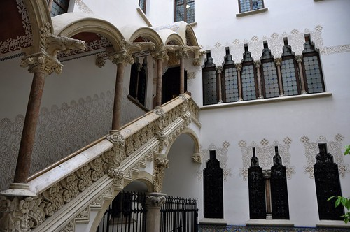 Barcelona (Passeig de Sant Joan). Macaya House (Casa Macaya). 1898-1901 Josep Puig i Cadafalch, architect | by Catalan Art & Architecture Gallery (Josep Bracons)