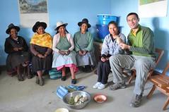 Compartint el dinar amb les dones de l'associació