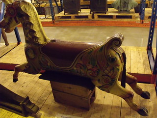 Museum Collections Centre - 25 Dollman Street - warehouse - Carousel Horse | by ell brown