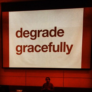 Degrading Gracefully with Jeremy Keith