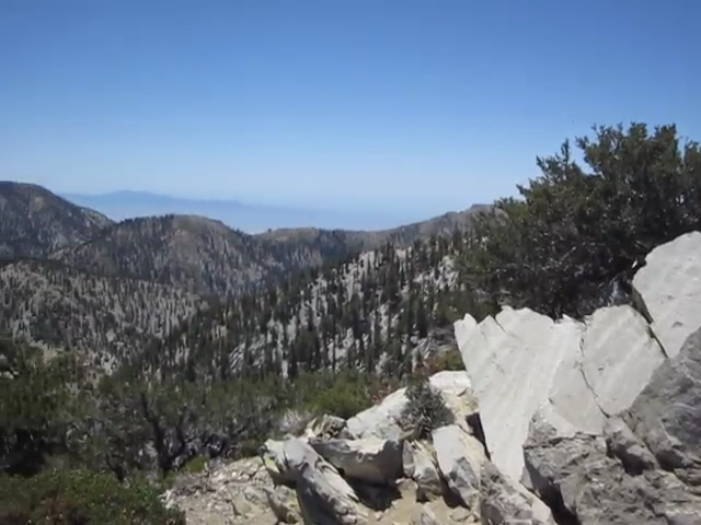 484 Telegraph Peak panorama video