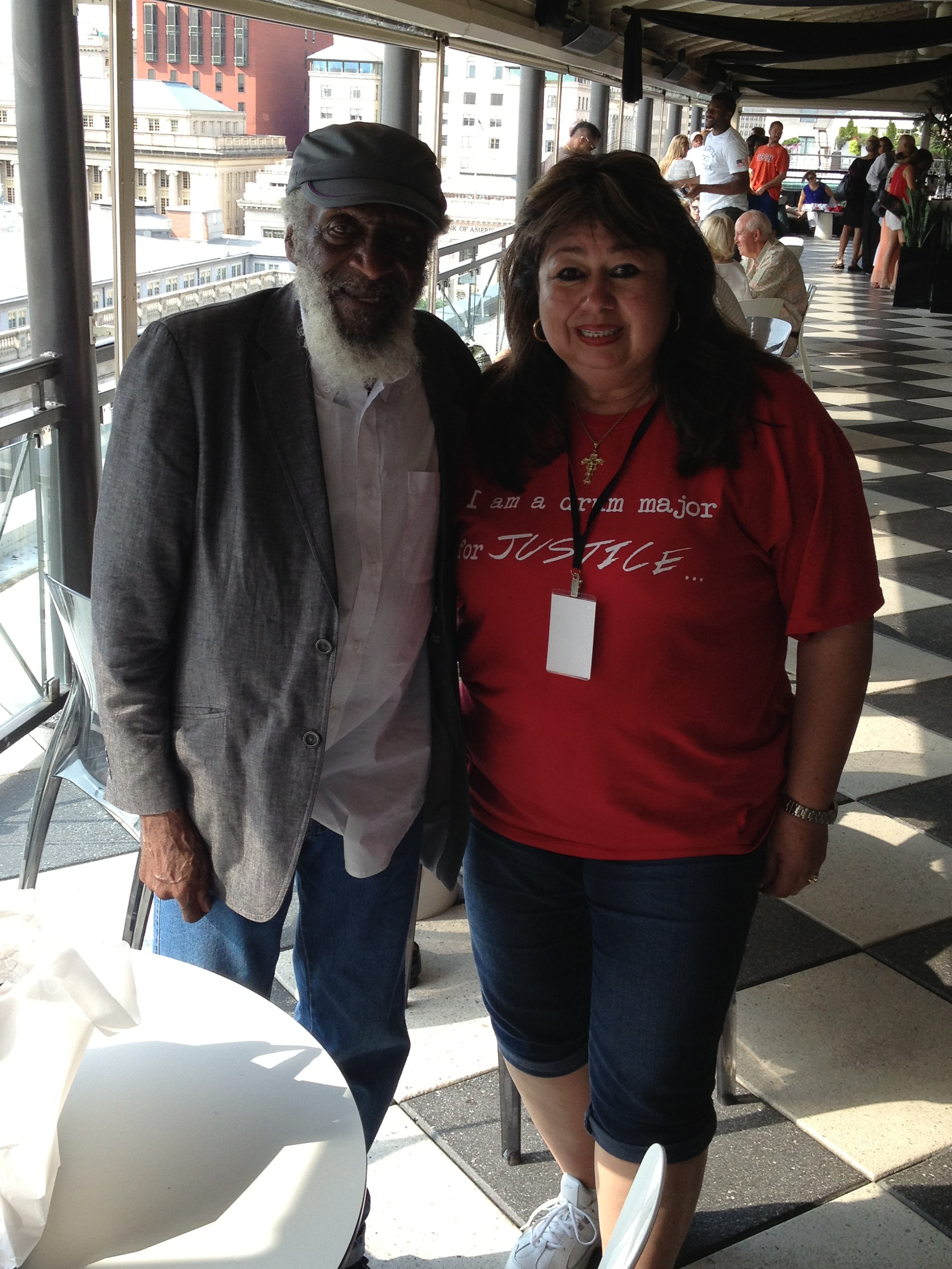 Civil Rights Leader Dick Gregory