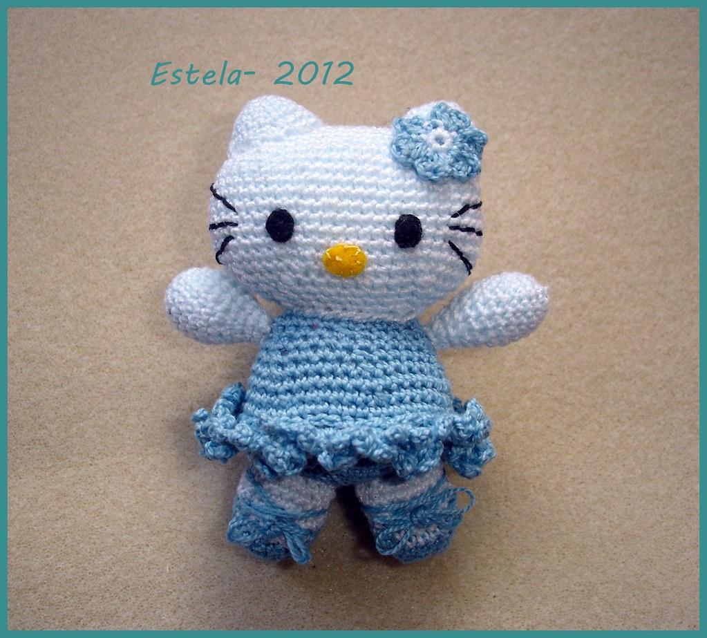 Amigurumi Hello Kitty bailarina | Cosas de hello kitty, Hello ... | 923x1023