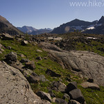 Boulder Pass area