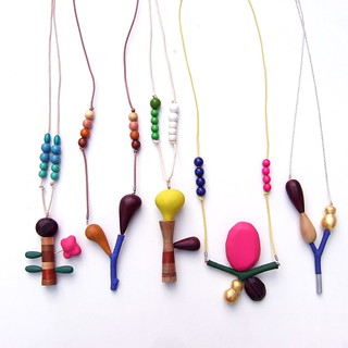 wood necklaces | by pipapiep